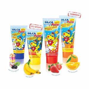 Детская зубная паста Silca