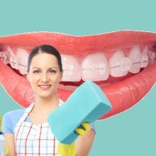 Как чистить зубы с брекетами: инструкция с картинками